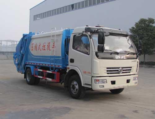 东风国五压缩垃圾车,8方压缩垃圾车