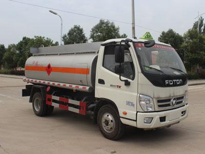 歐馬可4噸加油車油罐車141馬力康明斯圖片
