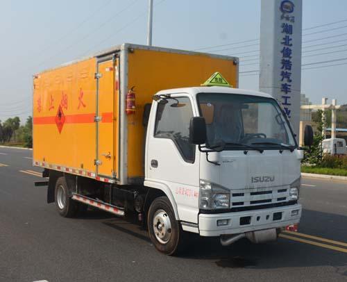 JHW5040XRQQ易燃氣體廂式運輸車