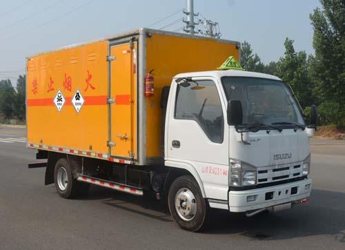慶鈴五十鈴4.2米毒性和感染性物品廂式運輸車