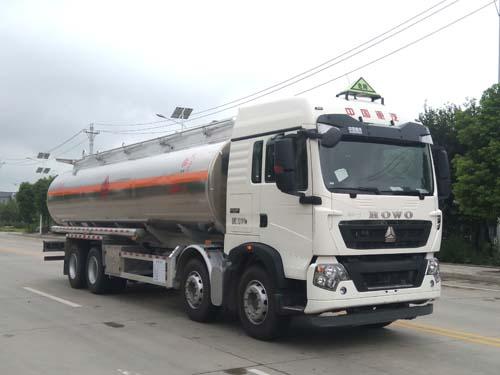 重汽25吨铝合金运油车