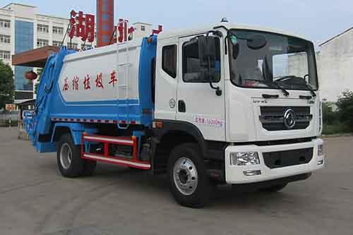 14-15方东风D9压缩式垃圾车