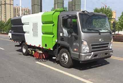 四川现代洗扫车