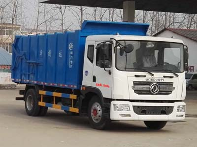东风多利卡D9_12吨对接式垃圾车