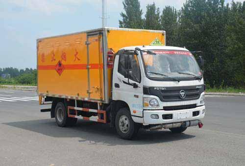 JHW5080XRQB-A2易燃氣體廂式運輸車