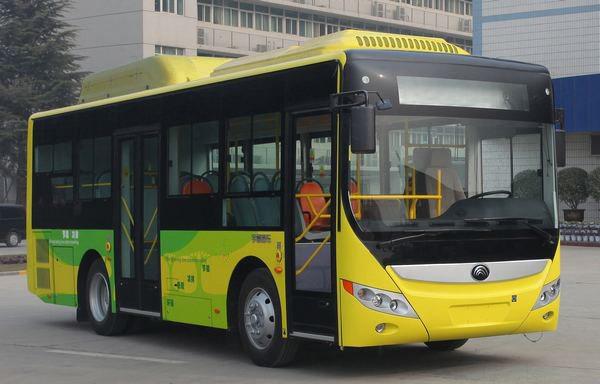 混合动力城市客车图片