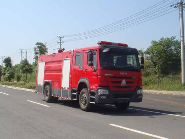 JDF5204GXFSG80水罐消防车