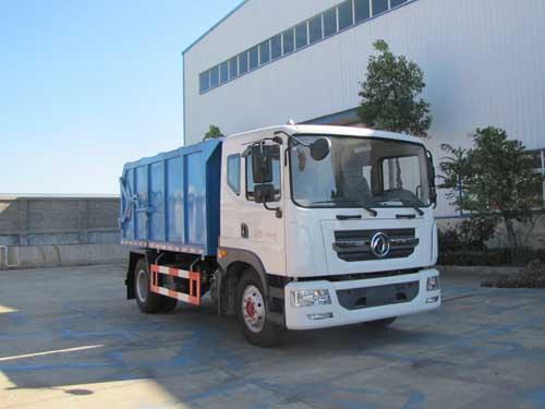东风多利卡D9压缩式对接垃圾车图片