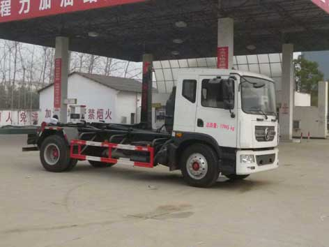 CLW5180ZXXD5车厢可卸式垃圾车