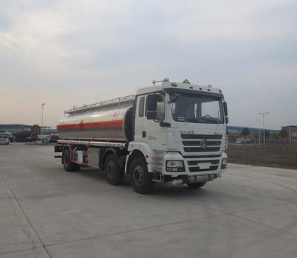 陕汽德龙25方铝合金运油车