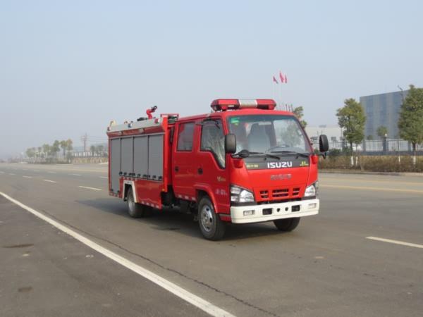 庆铃五十铃Q型水罐消防车