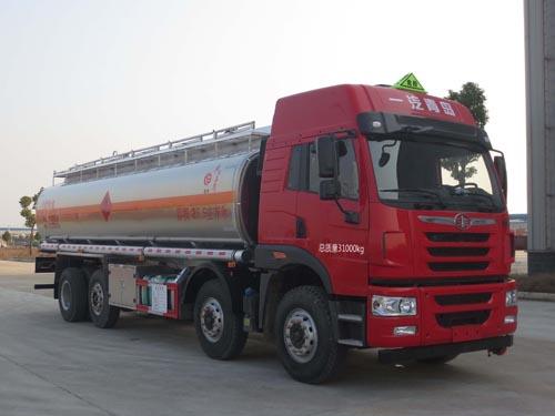 国5解放J5前四后六铝合金运油车25.5立方米