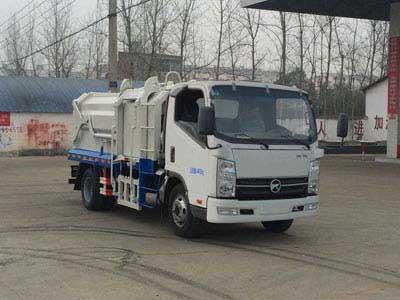 凱馬壓縮垃圾車生產廠家 壓縮式垃圾收集車廠家