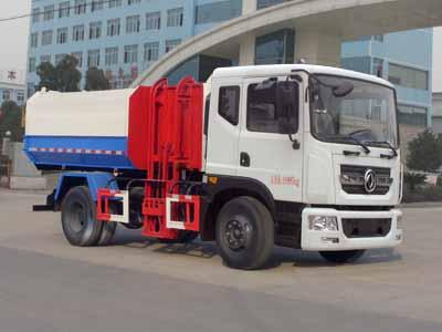 东风D9自装卸式垃圾车