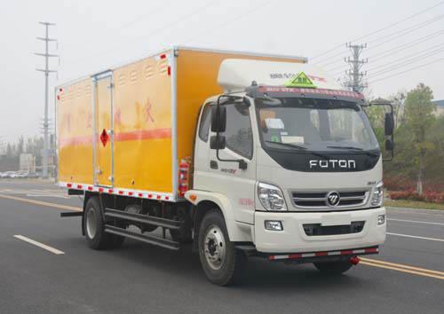 JHW5162XRQB易燃氣體廂式運輸車
