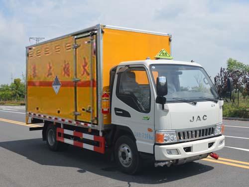 JHW5070XZWH雜項危險物品廂式運輸車