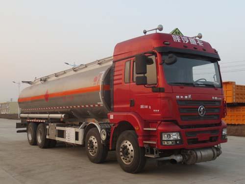 陕汽德龙25吨铝合金运油车