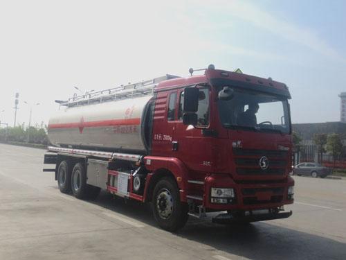 陕汽德龙18吨铝合金运油车