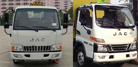 JHW5070XRQH易燃氣體廂式運輸車圖片