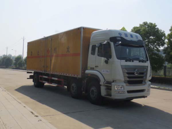 JDF5250XRYZ5易燃液体厢式运输车