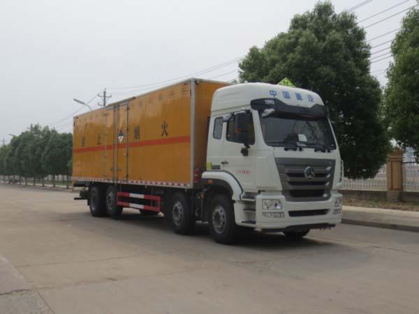 JDF5311XZWZ5杂项危险物品厢式运输车