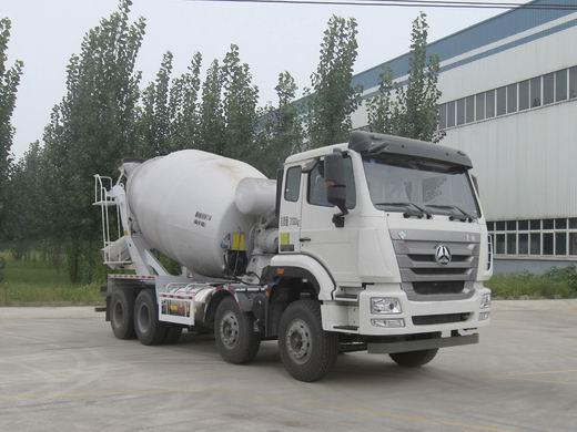 ZZ5315GJBN3263E1L混凝土搅拌运输车