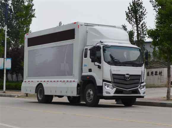 LED广告宣传车的现状分析镇江广告车宣传车图片