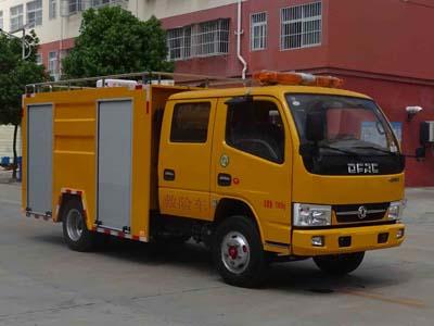 东风双排座小型救险车