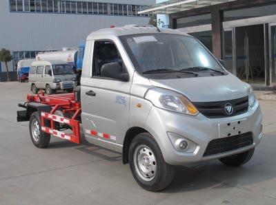 福田伽途4吨可卸式垃圾车