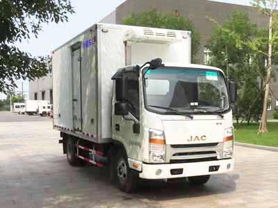 江淮帅铃窄体4米冷藏车