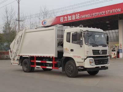 東風專底10噸壓縮式垃圾車