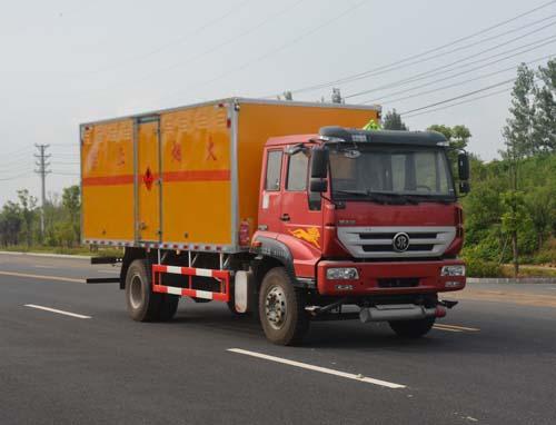 JHW5160XRQZ易燃氣體廂式運輸車