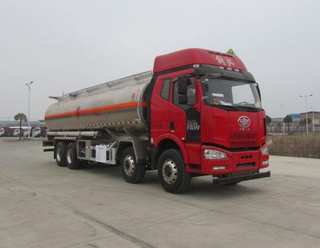 解放J6四桥25吨铝合金运油车