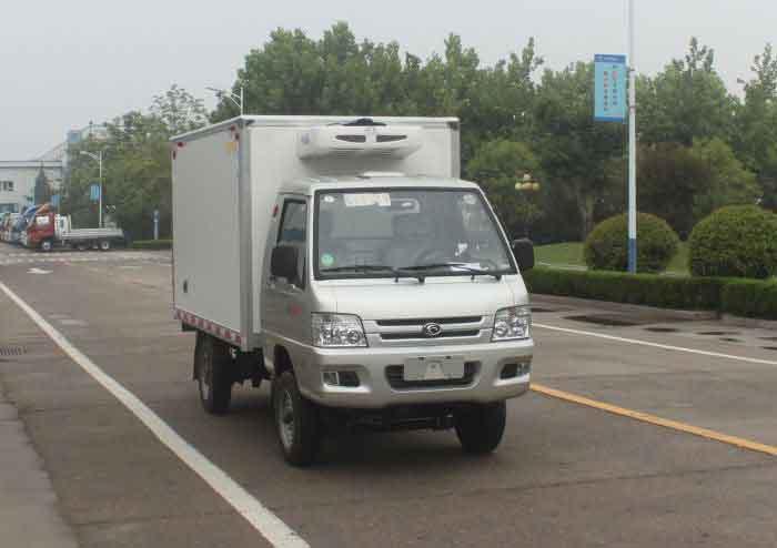 论冷藏车车厢材料构成和日常保养二手冷藏车9米6图片