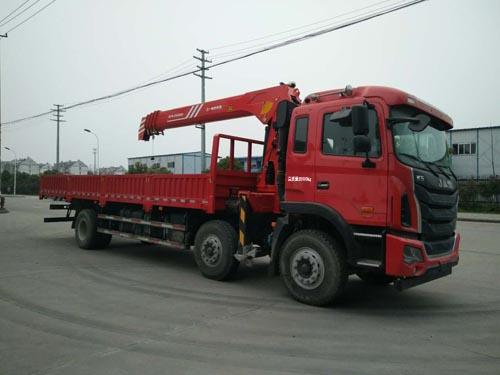 江淮格爾發小三軸10噸|12噸隨車吊