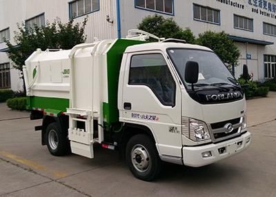 山东巨环专用汽车ZJH5042ZZZ型自装卸式垃圾车