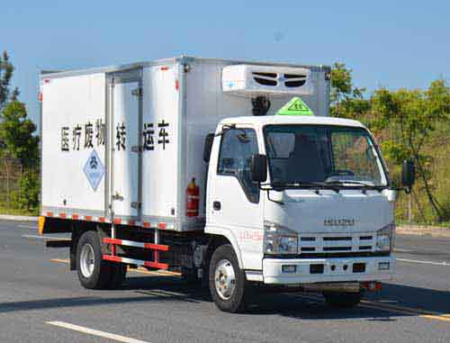 慶鈴五十鈴1.35噸醫療廢物轉運車