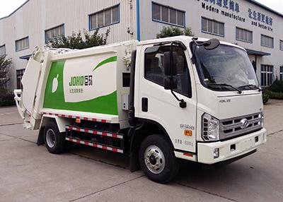 山东巨环专用汽车ZJH5085ZYS型压缩式垃圾车