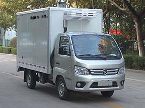 论冷藏车车厢材料构成和日常保养冷藏车用电图片