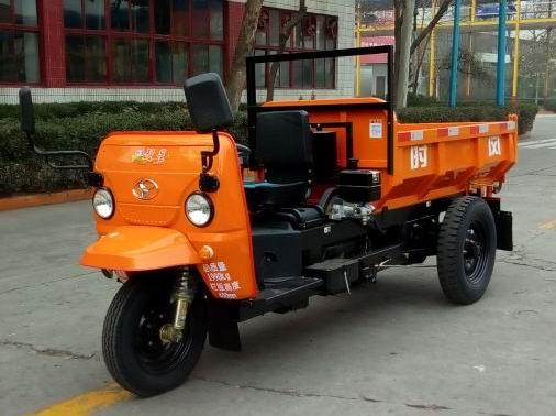 山东时风7YP-1175DC4型自卸三轮汽车