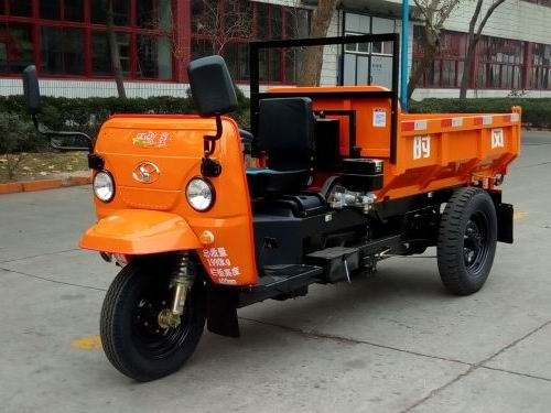 山东时风7YP-1475DC4型自卸三轮汽车