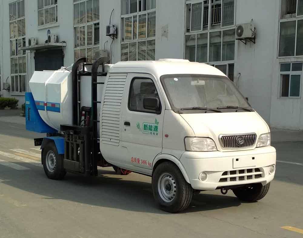 中悦纯电动车特种车