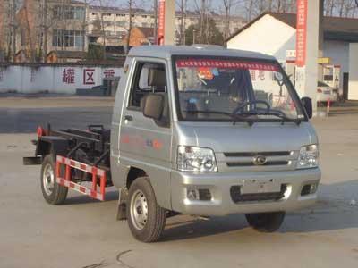 福田驭菱3吨车厢可卸式垃圾车