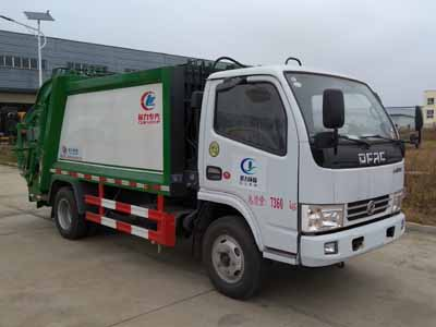 東風小多利卡5噸壓縮式垃圾車