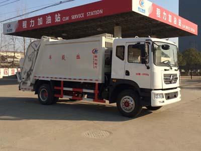 东风多利卡D9_12吨压缩式垃圾车(康明斯180马力)