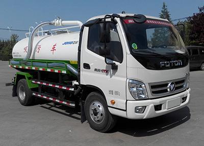 山东巨环专用汽车ZJH5084GXW型福田欧马可吸污车