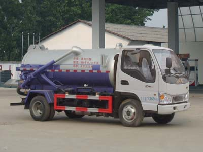 江淮CLW5070GXWH5吸污车