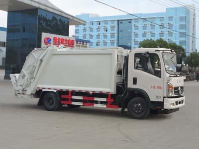 東風多利卡8方壓縮垃圾車