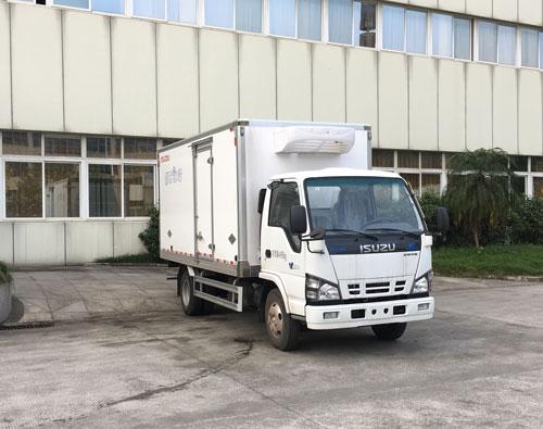 安徽合肥哪里有蓝牌庆铃600P冷藏车厂家?