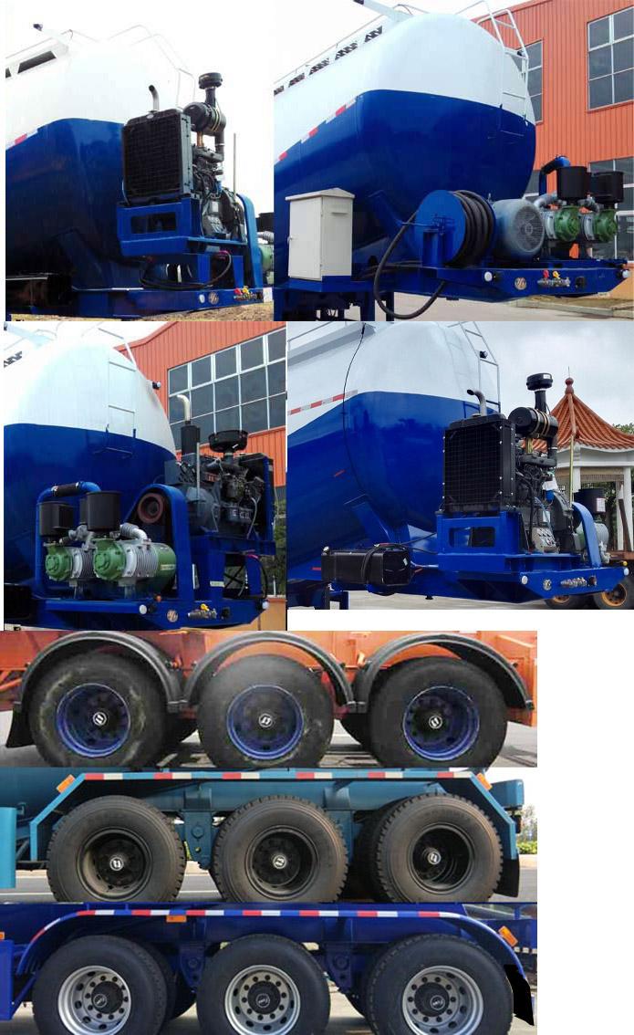 哹n�+��gf_明威牌nhg9400gfl型中密度粉粒物料运输半挂车图片